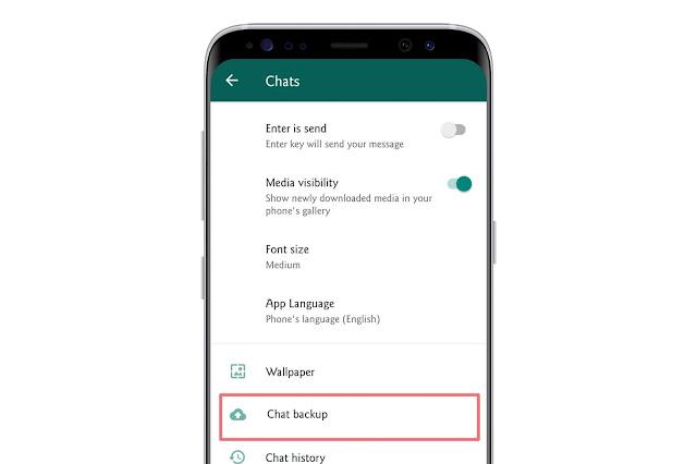Backup Chats On Whatsapp