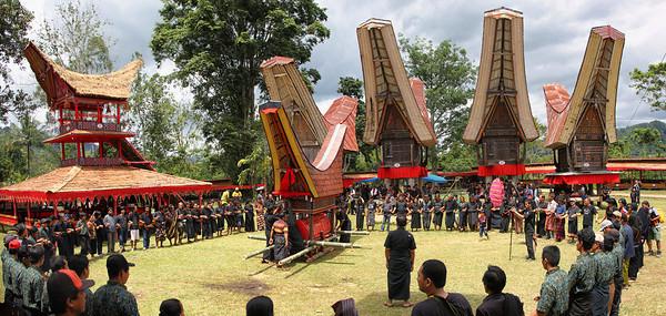Upacara Rambu Solo di Toraja