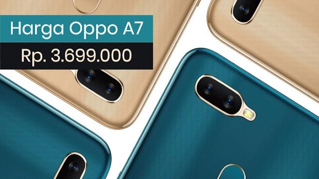 Harga Oppo A7 Terbaru Indonesia
