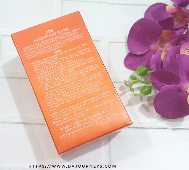 Review OST Original Pure C20 Vitamin Serum
