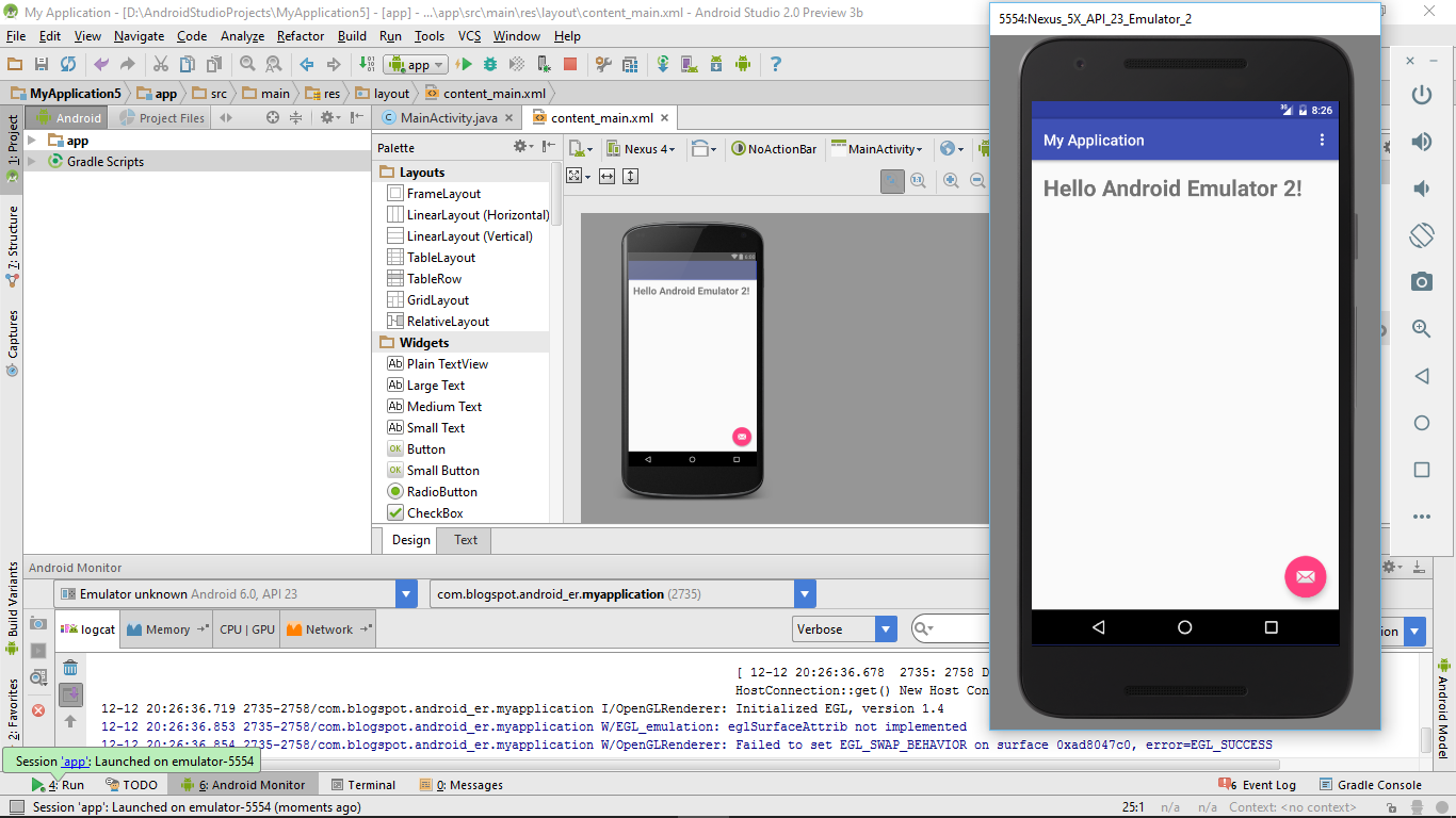 Android-er: Create AVD using new Android Emulator in Android