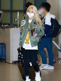 Chúc mừng sinh nhật Hyoyeon - Xem qua một số thời trang sân bay đẹp nhất của cô ấy