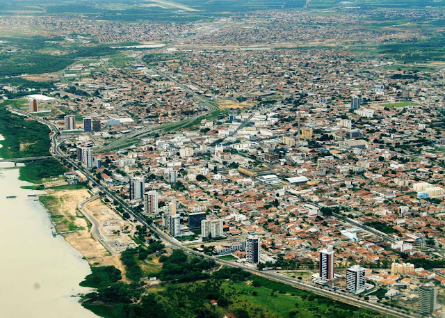 Imagem aérea de Petrolina - PE