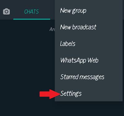 how to lock whatsapp in hindi - setting