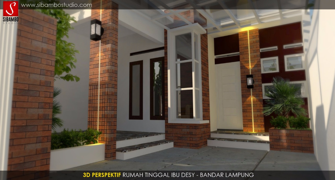 Desain Rumah Minimalis Bata Ekspos  Kumpulan Desain Rumah