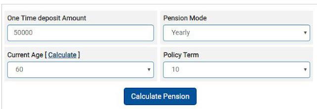 LATEST PENSION PMVVY CALCULATOR FOR LIC PRADHAN MANTRI VAYA VANDANA YOJANA 2019 ,pmvvy calculator