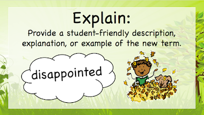 As we discussed in Part One research says children that struggle with comprehension also struggle with vocabulary.  This three part series lends quick and easy ways to expand your students' vocabulary and also strengthen their overall comprehension.  Please revisit Sowing The Seeds Of Vocabulary (Part One) to help you understand and implement vocabulary in your classroom.  This post (Part Two) will remind you how important it is to use Marzano's Vocabulary Process and Multiple Intelligence Theory to reach all students!