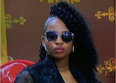BBNaija Cindy Evicted From Big Brother House