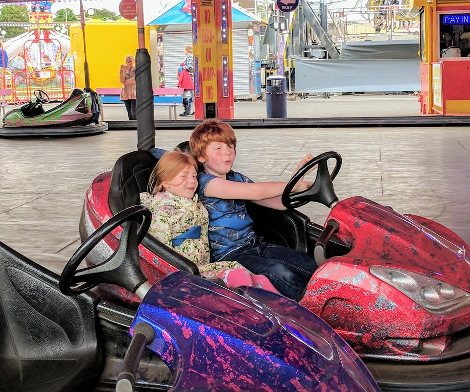 15+ Things To Do In South Shields - dodgems at ocean beach