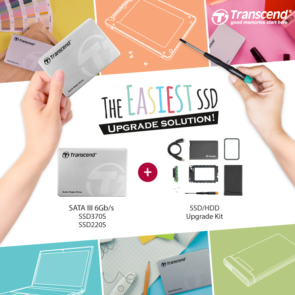 Transcend SSD+ Upgrade Kit