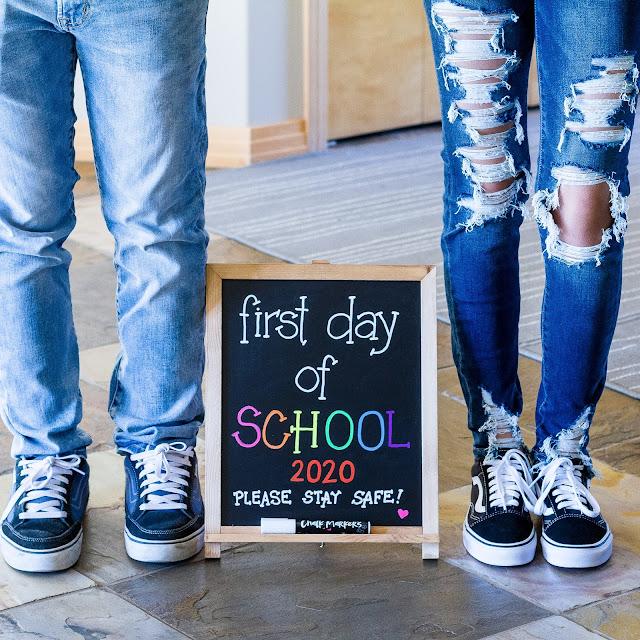 Back to School, Chalk Marker, Chalkola, DIY, ilovedoingallthingscrafty, Sign,