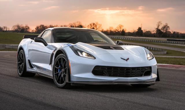 Первый Chevrolet Corvette Carbon 65 будет продан для благотворительности