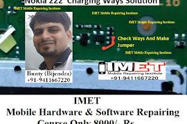 Nokia 222 Not Charging Problem Solution Jumper Ways - IMET