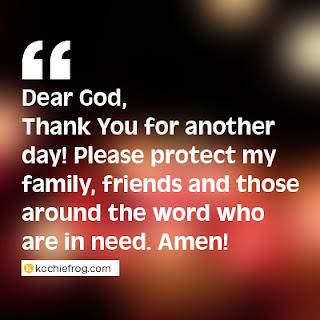 dp bbm doa malam hari bahasa inggris