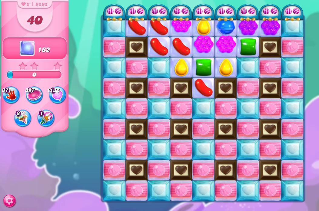 Candy Crush Saga level 9292
