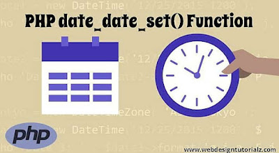 PHP date_date_set() Function