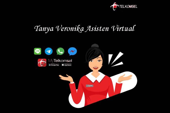 Fitur Layanan Asisten Virtual Telkomsel