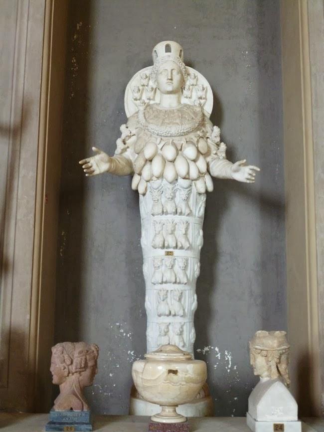 diana ephesus - OS MÁRMORES ANTIGOS