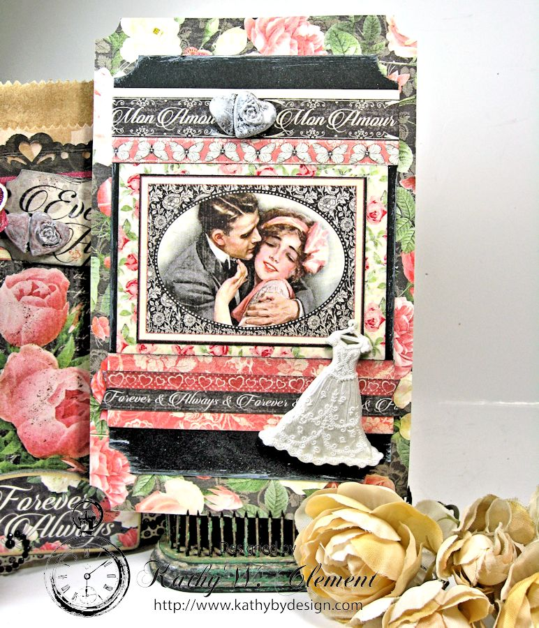 Kathy by Design: Romantic Ribbon and Mon Amour