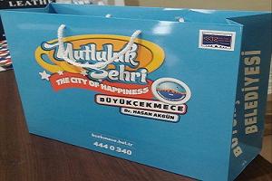 belediye ve kamu kuruluşları için karton çanta
