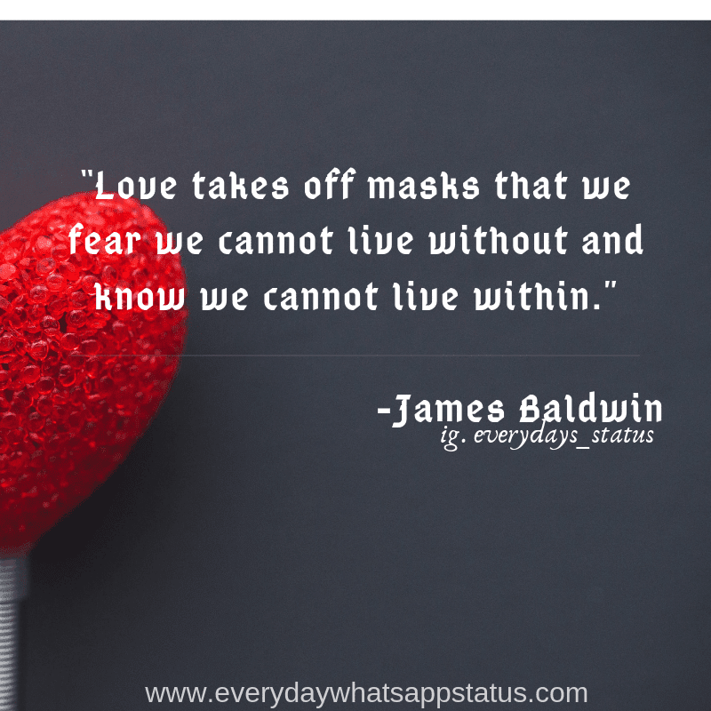 Love Quote In English Everyday Whatsapp Status Images