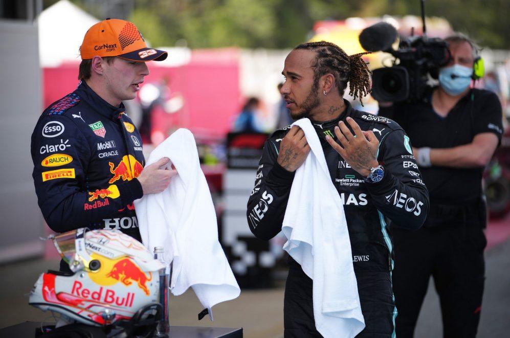 Verstappen disse que combinar a estratégia de Hamilton não mudaria o resultado