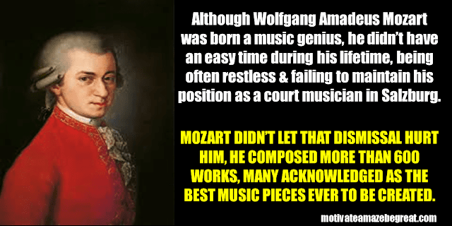Success Stories From Famous People Who Failed Before Succeeding: Wolfgang Amadeus Mozart