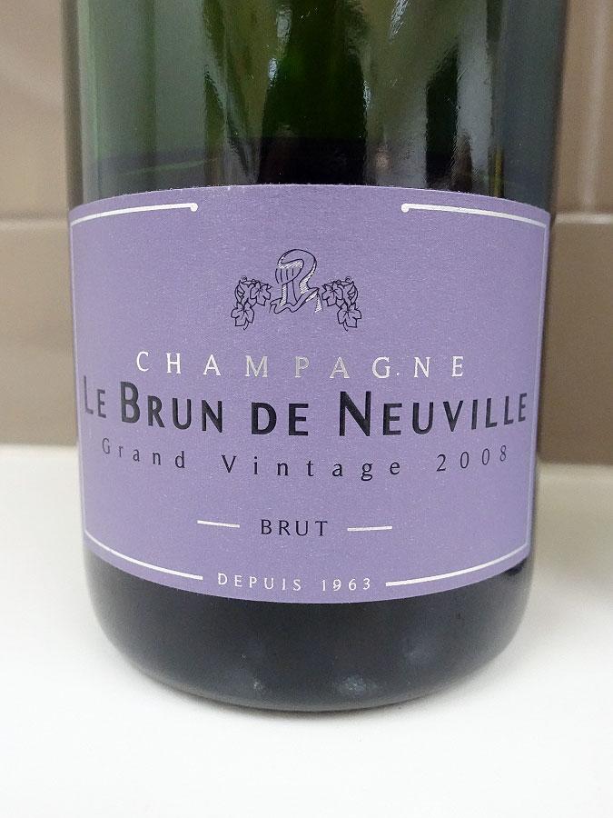 Le Brun de Neuville Grand Vintage Brut Champagne 2008 (92 pts)
