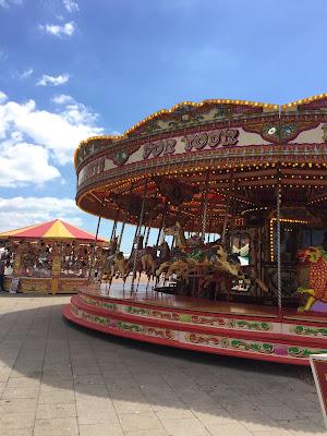 Brighton fairground rides