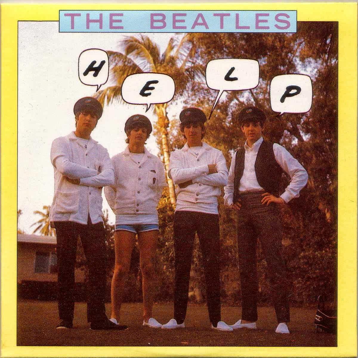 Tan Sólo Música : The Beatles (1965) - Help! (45 rpm)