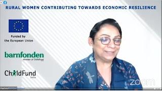 प्रदेश की ग्रामीण महिलाएं आर्थिक उन्नति की दिशा में भी देंगी योगदान : नीलम माखीजानी | #NayaSaveraNetwork