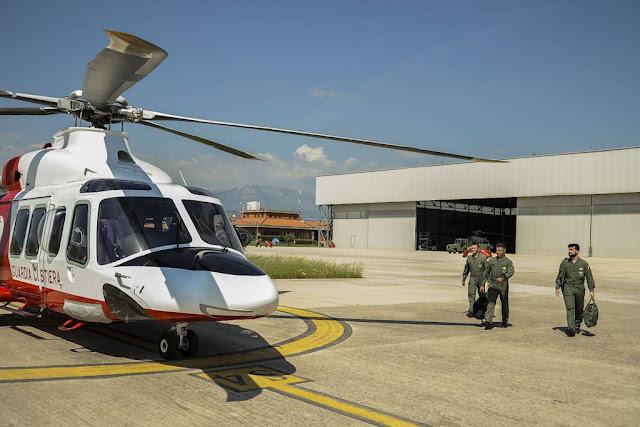 Cooperazione Aeronautica Guardia Costiera addestramento piloti