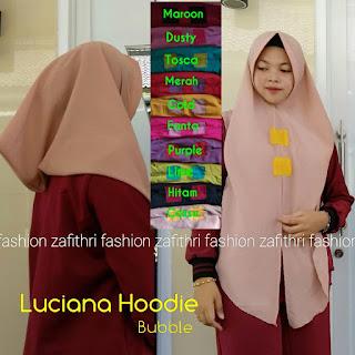 jilbab hoodie instan bahan bubble