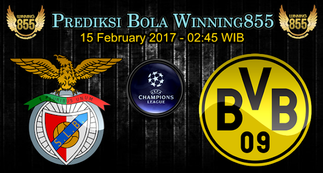 Prediksi Bola Benfica vs Borussia Dortmund