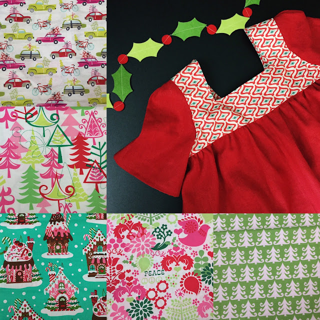 Handcrafted Christmas Dresses by Daydream Believers Designs