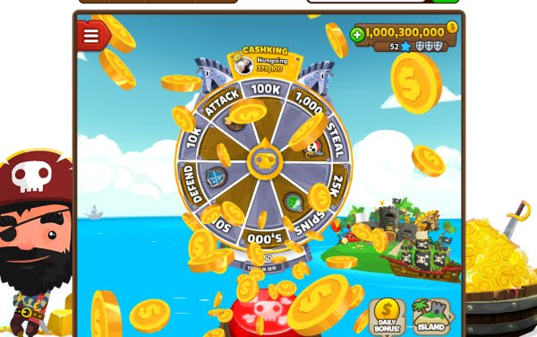 Pirate Kings Free Spins, Coin, Daily Rewards & Much More!