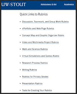 Helpful EdTech Rubrics for Teachers