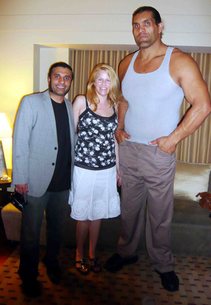 Simple Nice Girl Wallpaper Sports Stars Celebrity The Great Khali Indian Wrestling