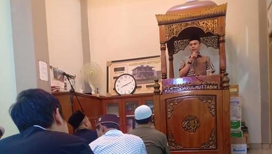 Safari Ramadan ke Masjid Darul Muttaqin, Delma Ajak Jamaah Rajut Persatuan