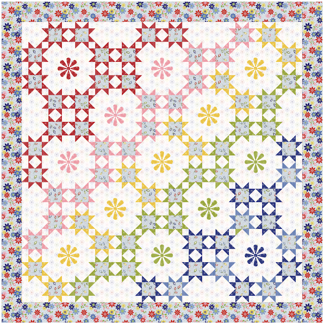 Shine on Quilt Pattern by Jill Finley