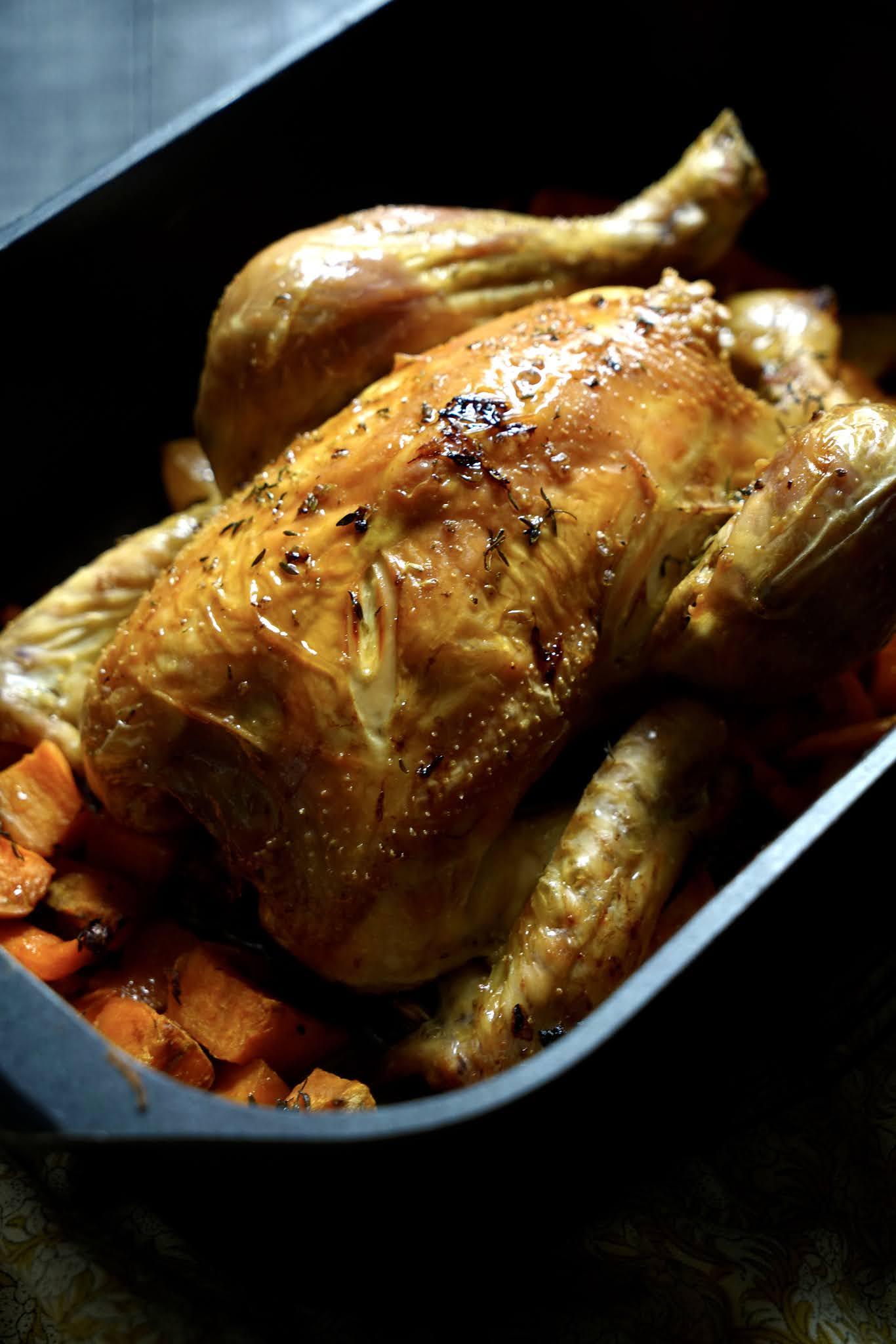 poulet , poulet roti , plat familial