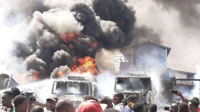 Kwesimintsim: Tanker Explosion,Two Year Old Boy Dies