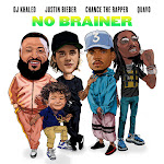 DJ Khaled - No Brainer (feat. Justin Bieber, Chance the Rapper & Quavo) - Single Cover