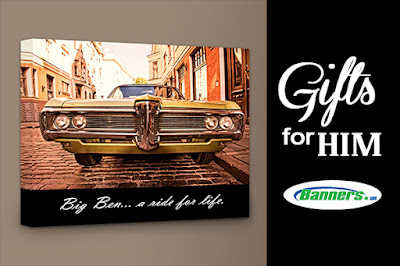 Gifts for Him - Framed Canvas Wall Art | Banners.com