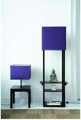 Floor Lamp  and low floor lamp Kokeshi for modern bedroom furniture sets