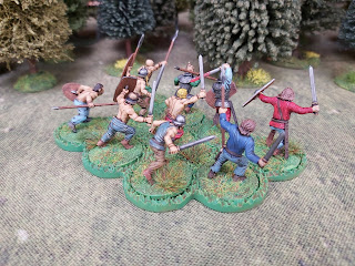Gauls charge into battle