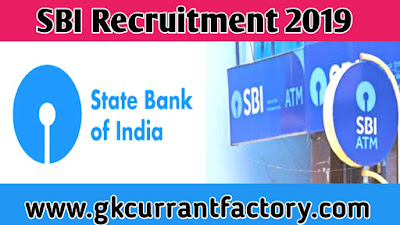 SBI Recruitment, SBI Jobs 2019, SBI vacancy 2019