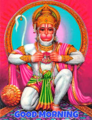 hanumanji good morning images