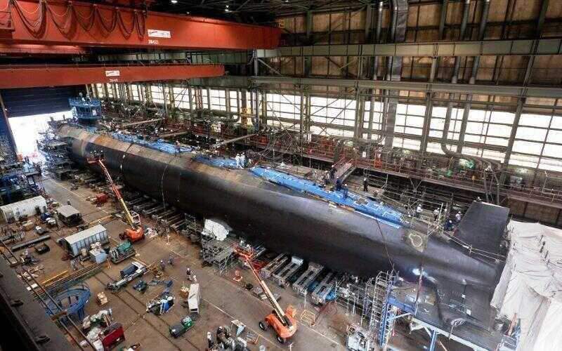 Konstruksi kapal selam AS