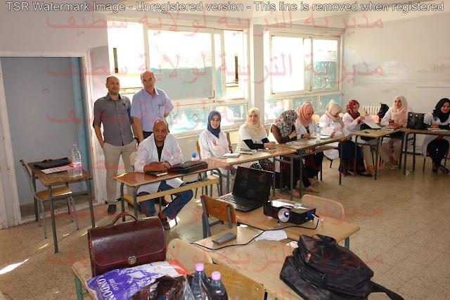 التكوين التحضيري البيداغوجي للأساتذة 2017 دورة جوان بولاية سطيف